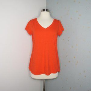Eileen Fisher | Orange V-Neck
